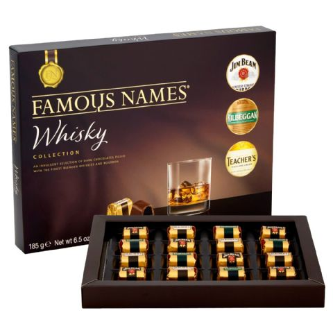 Famous Name Whisky Collection Gift Box Elizabeth Shaw 185g